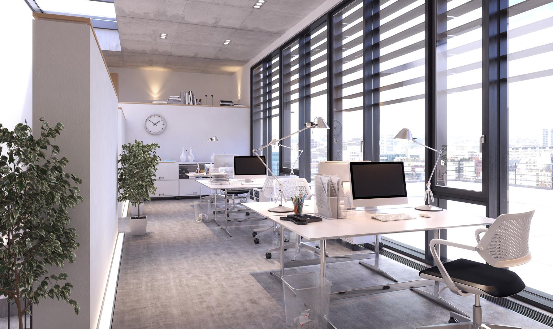 Modernes Bro -  modern Office